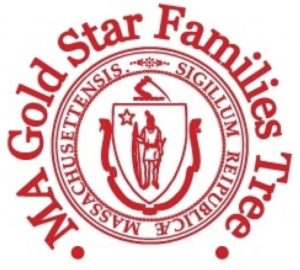 Gold Star Families Tree Logo
